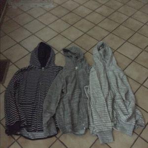 Lot of 3 printed Gap hoodies